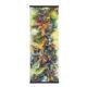 Kakejiku (scroll painting) Mixed Media on Fiber Art (Polymer-coated and Textile Fiber) 109.2 cm x 40 cm ( 43″ x 15.7″) 2016