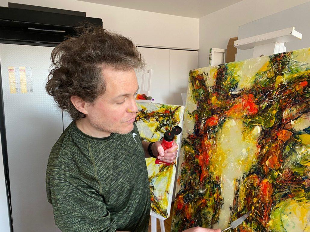 Martin Handfield Painting 2020